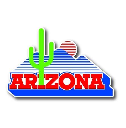 Arizona Wildcats Vinyl Die Cut Decal Sticker 4 Sizes