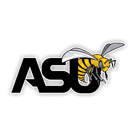 Asu Alabama State University Hornets Die Cut Vinyl Decal