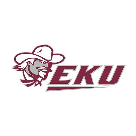 Eku Eastern Kentucky University Colonels B Die Cut Decal