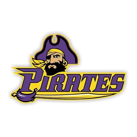 Ecu East Carolina University Pirates C Die Cut Decal