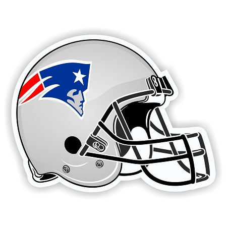 Helmet New England Patriots Die Cut Decal Sticker 4