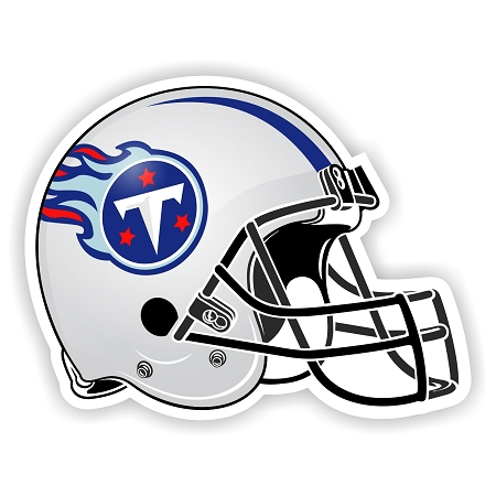 Helmet Tennessee Titans Die Cut Decal Sticker 4 Sizes