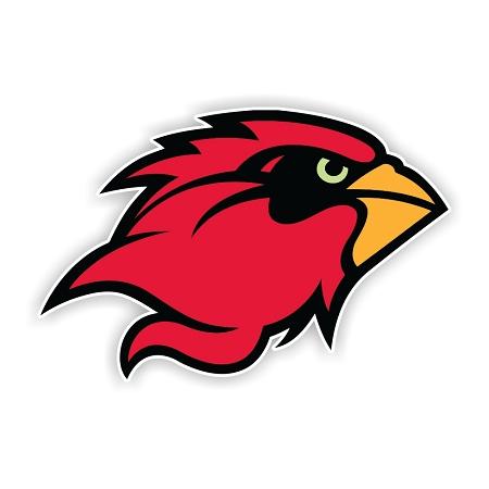 Lamar University Cardinals B Die Cut Decal 4 Sizes
