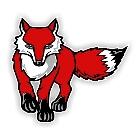 Marist Red Foxes B Die Cut Decal 4 Sizes