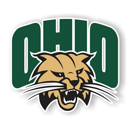 Ohio Bobcats Vinyl Die Cut Decal Sticker 4 Sizes