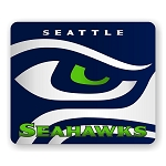 "Seattle Seahawks (B) Mouse Pad 9.25"" X 7.75"""