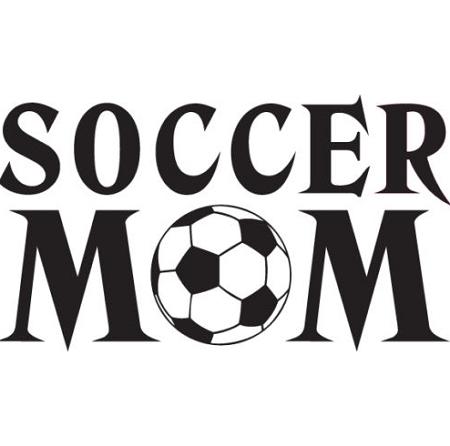 Soccer Mom Vinyl Decal 4 Sizes