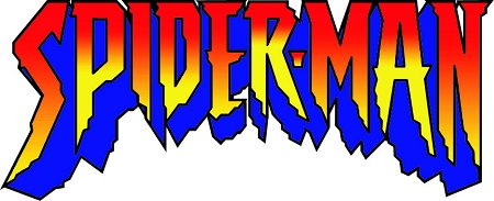 Spiderman Font Vinyl Die Cut Decal Sticker 4 Sizes