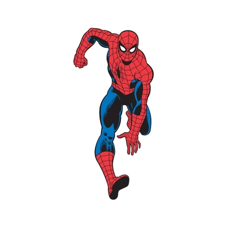 Spiderman Running Vinyl Die Cut Decal Sticker 4 Sizes