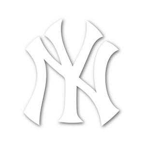 New York Yankees Vinyl Die Cut Decal Sticker 4 Sizes
