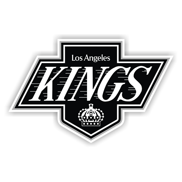 Los Angeles Kings C Vinyl Decal Sticker 4 Sizes