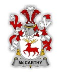 McCarthy Family  Crest Vinyl Die-Cut Decal / Sticker ** 4 Sizes **