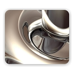 Abstract Art (B) Mouse Pad  9.25