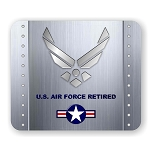 U.S. Air Force Retired Mouse Pad  9.25