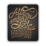 All You Need Is Love Mouse Pad 9.25