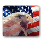 American Eagle (C) Mouse Pad  9.25