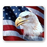 American Eagle (D) Mouse Pad  9.25