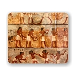 Ancient Egyptian Art Mouse Pad 9.25