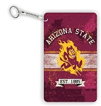 ASU Arizona State University Sun Devils Key Chain