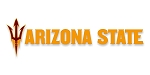 ASU Arizona State Sun Devils (Letters & Fork Style A)Vinyl Die-Cut Decal / Sticker ** 4 Sizes **