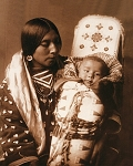 Apsaroke Mother and Child  8