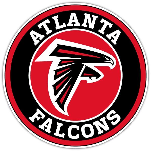 Atlanta Falcons B Vinyl Die Cut Decal Sticker 4