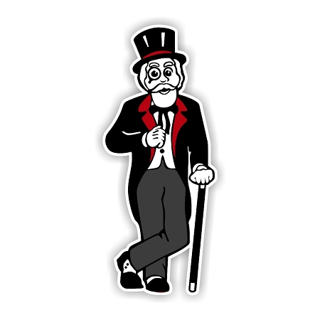 Austin Peay Governors Mascot Vinyl Die Cut Decal 4 Sizes