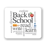 Back To School Mouse Pad (GREAT Teaches Gift) 9.25