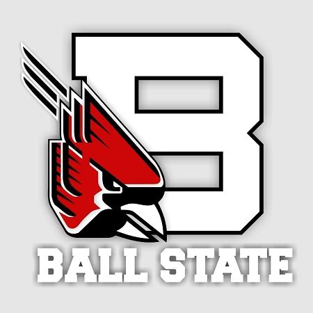 Ball State Cardinals C Vinyl Die Cut Decal 4 Sizes