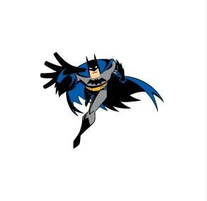 Batman Running Towards You Vinyl Die Cut Decal Sticker