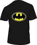 BATMAN MEN'S BLACK T-SHIRT