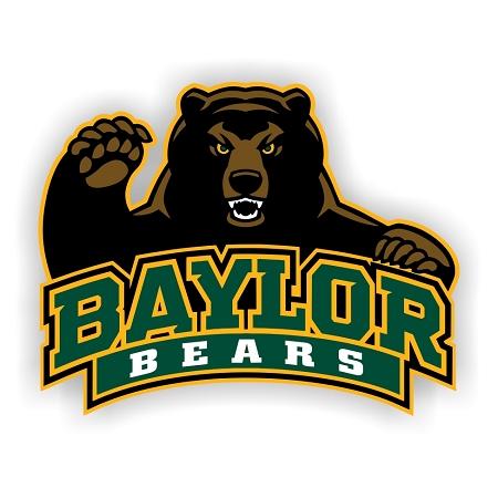 Baylor Bears B Vinyl Die Cut Decal 4 Sizes