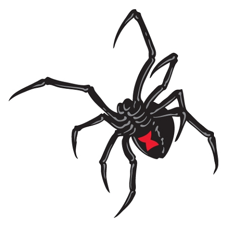 black widow style a diecut vinyl decal sticker 4