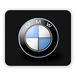 BMW (A) Mouse Pad  9.25