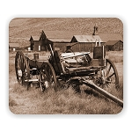 Bodie Wagon Photo Mouse Pad  9.25