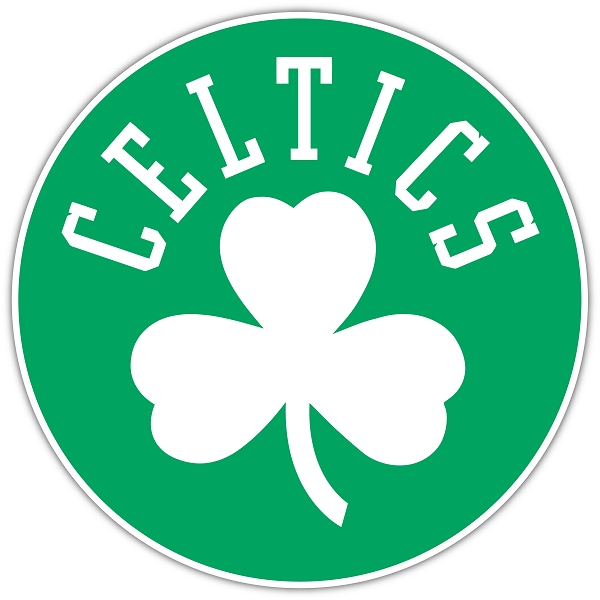 Boston Celtics Die-Cut Logo Car Magnet