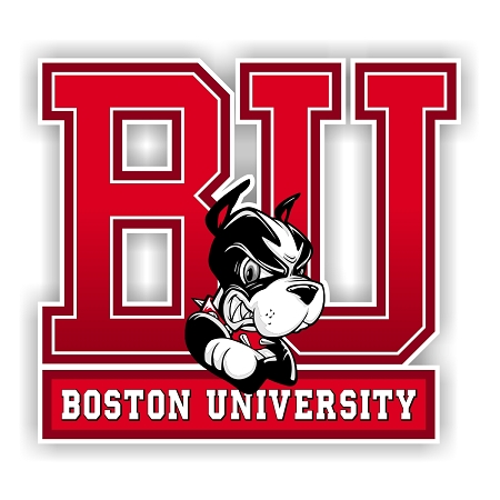 Boston University Terriers Die Cut Decal 4 Sizes