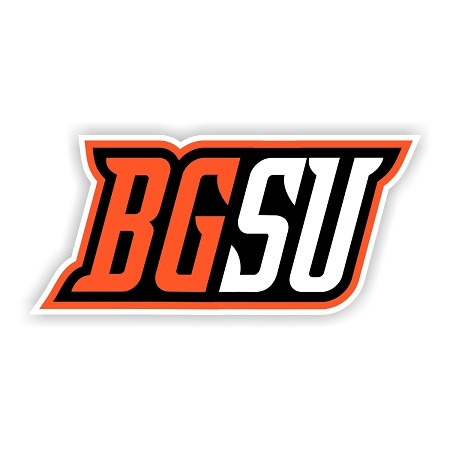Bowling Green State University Letters Die Cut Decal
