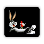 Bugs Bunny Laying Down Mouse Pad  9.25