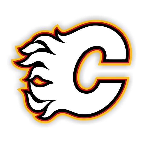 Calgary Flames C Vinyl Decal Sticker 4 Sizes