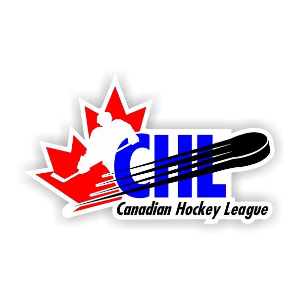 Canadian Hockey League Canada Vinyl Die Cut Decal