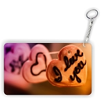 Candy Heart I Love You Key Chain