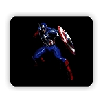 Captain America (A)  Mouse Pad  9.25