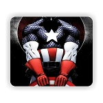 Captain America (C)  Mouse Pad  9.25