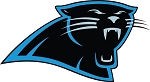 Carolina Panthers Head Only Vinyl Die-Cut Decal / Sticker ** 4 Sizes **