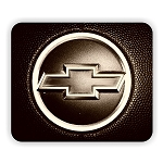 Chevy Logo (B)  Mouse Pad  9.25
