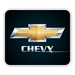 Chevy Logo (C) Mouse Pad  9.25