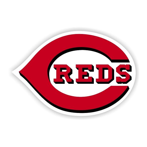 Cincinnati Reds D Vinyl Die Cut Decal Sticker 4