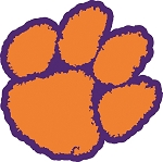 Clemson Tigers Vinyl Die-Cut Decal / Sticker ** 4 Sizes **