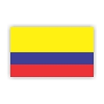 Colombia Flag  Vinyl Die-Cut Decal / Sticker ** 4 Sizes **